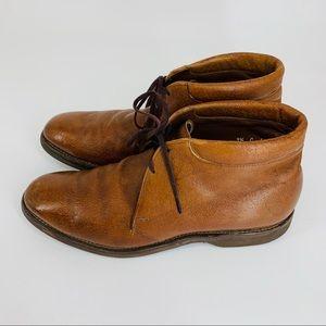 Allen Edmonds walnut Viking II Chukka boot